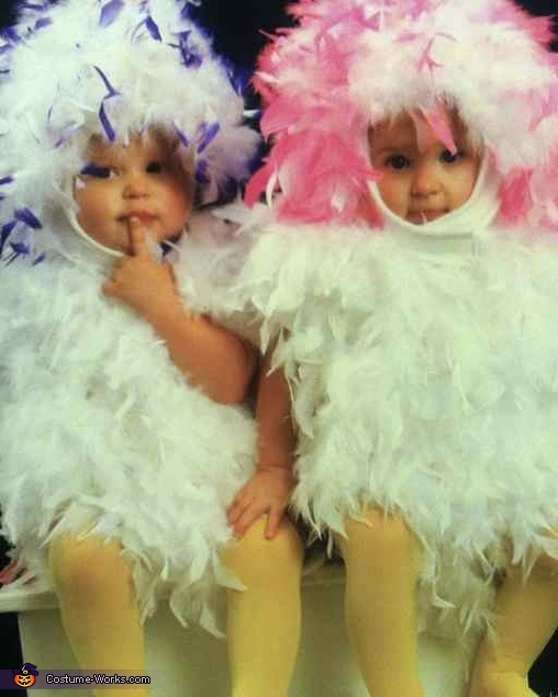 baby chickens cute halloween costumes for baby twins