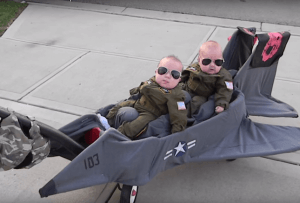 top gun halloween costume for twins