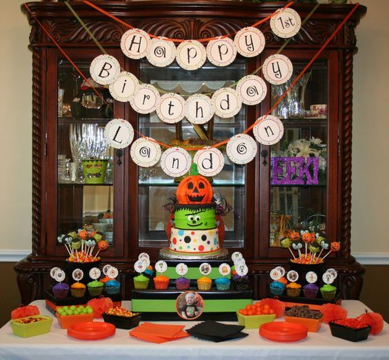 Halloween Themed Baby Party, Parties, Holiday, Trick or Treat