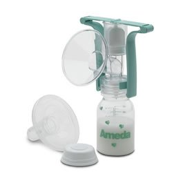 Ameda One Hand Breast Pump, Model 17093