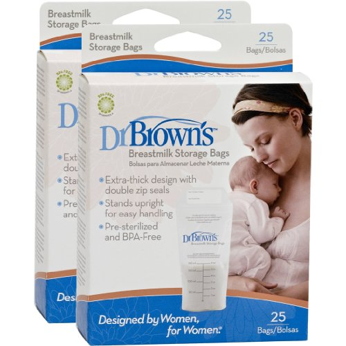 Dr Brown Breast Milk Storage Bags