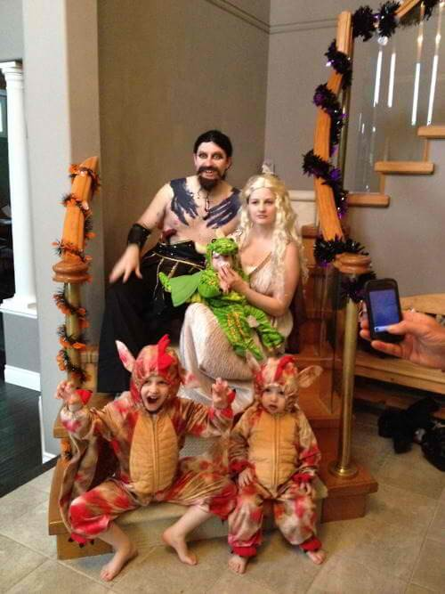 game of thrones halloween costume ideas for family with baby