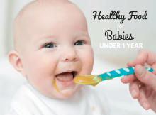 healthy food for babies under 1 year