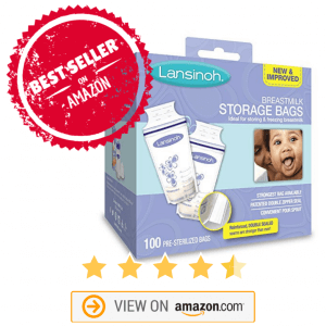 amazon best seller breast milk storage bags