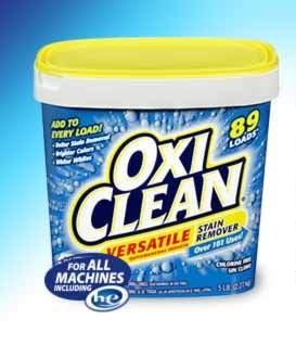 Is using OxiClean on cloth diapers a big no-no