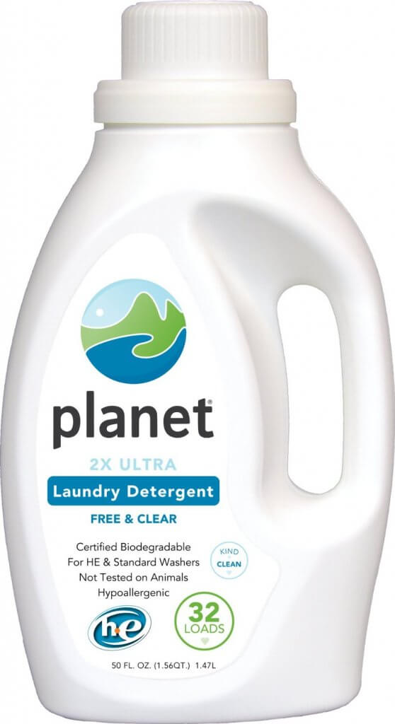 Planet 2x Concentrated Ultra Powder laundry detergent for cloth diapers