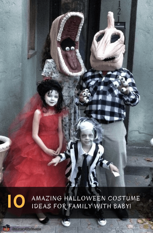 10 Halloween Costume Ideas for a Family with Baby! - BabyCare Mag