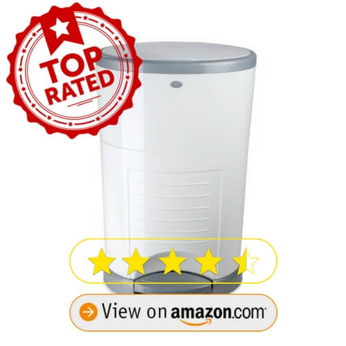 Dekor Classic Hands-Free Diaper Pail on amazon