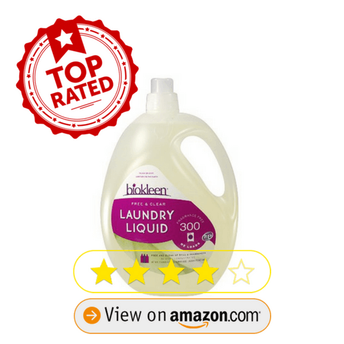 top-rated laundry detergent for babies