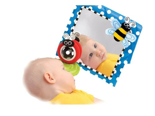 Sassy Floor Mirror baby learning toy