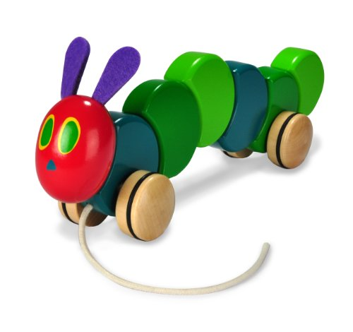 Pull Caterpillar baby learning toy