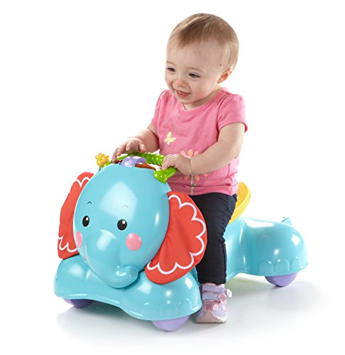 Fisher Price Bounce and Stride Elephant baby learning toy