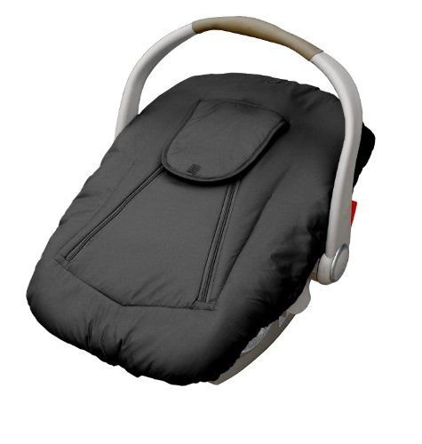 Jolly Jumper Arctic Sneak-A-Peek Infant Car Seat Cover With Attached Blanket