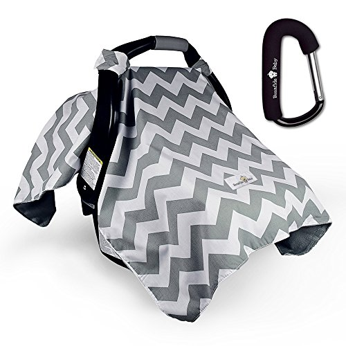 Bonafide Baby Car Seat Covers with Free Stroller Hook