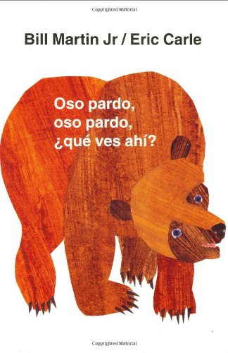 Brown Bear What Do You See Book in Spanish