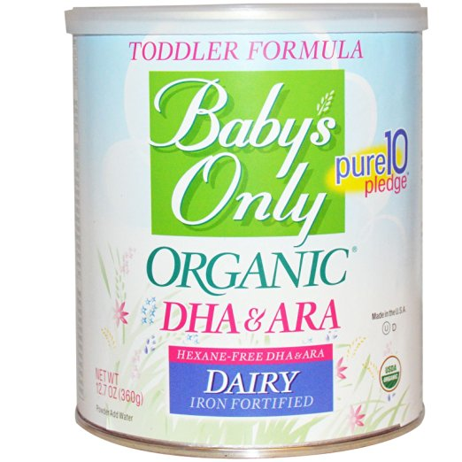 Nature's One, Toddler Formula, DHA & ARA, Dairy, Iron Fortified
