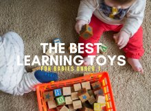 THE BEST LEARNING TOYS FOR BABIES UNDER 1