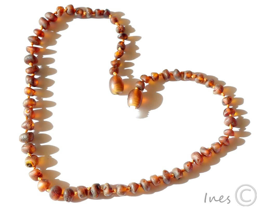 Amber Teething Necklaces While Sleeping