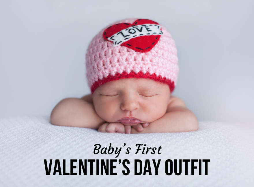 babys first valentines day outfit
