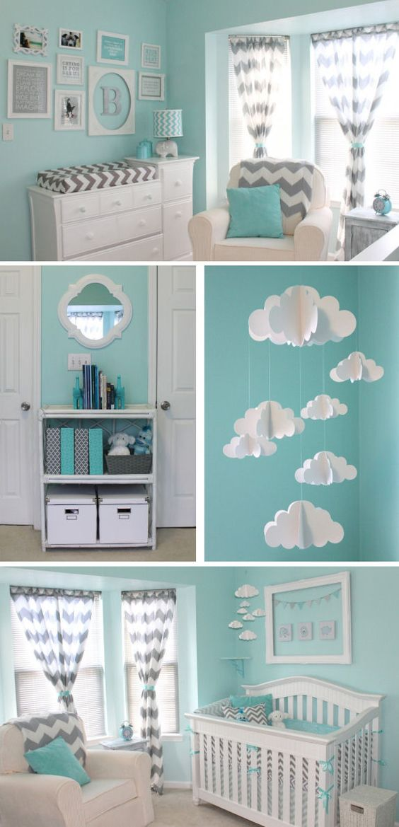 Baby Boy Nursery Inspiration.