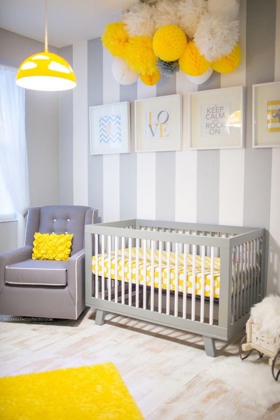 Gender Neutral Baby Nursery Inspiration.