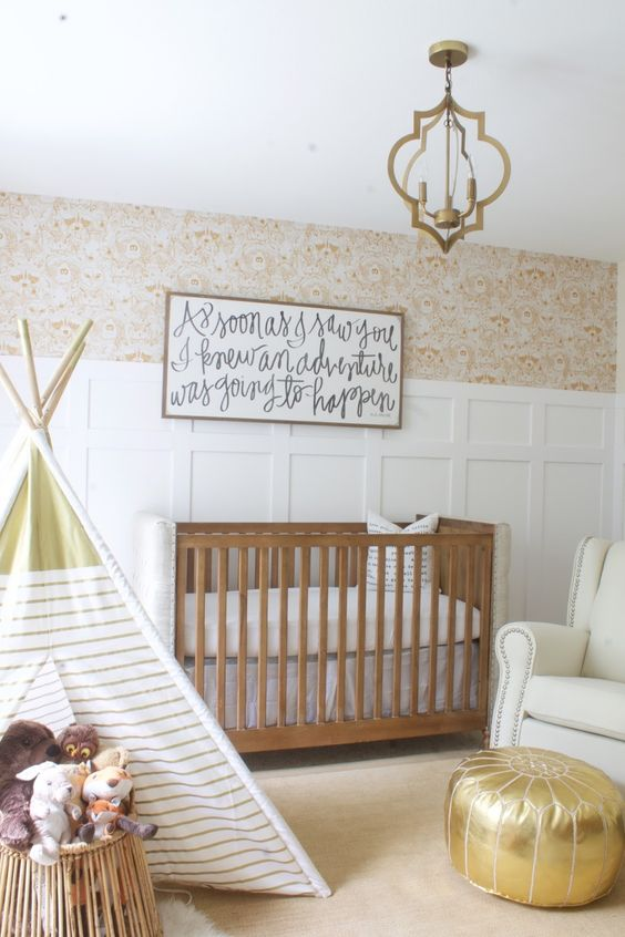 Neutral Baby Nursery Ideas.