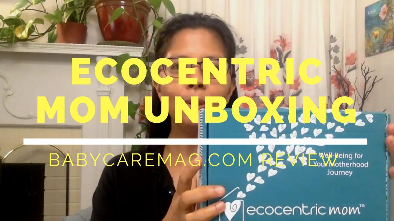 Ecocentric Mom Unboxing Review August 2017 Subscription