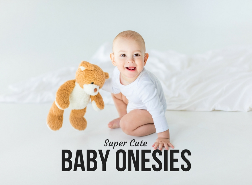 Super Cute Baby Onesies