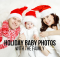 Holiday Baby Photos With The Family