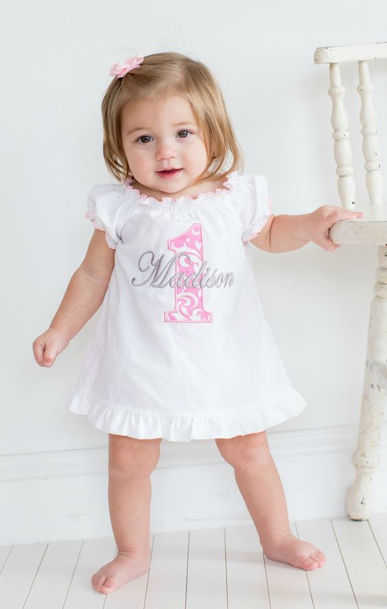 Beautiful First Birthday Girl Outfits Babycare Mag